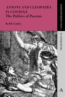 Antony and Cleopatra  in Context PDF