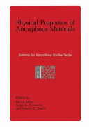 Physical Properties of Amorphous Materials