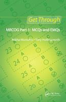 Get Through MRCOG Part 1  MCQs and EMQs PDF