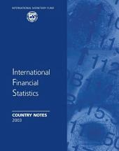 International Financial Statistics Country Notes September 2003
