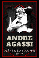 Andre Agassi Distressed Coloring Book