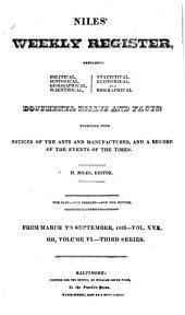 Niles' Weekly Register: Volume 30