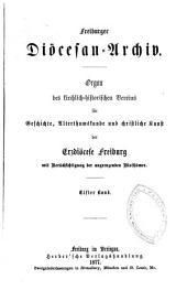 Freiburger Diözesan-Archiv: Band 11