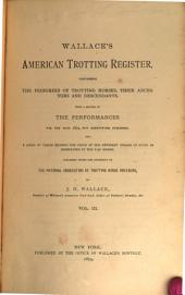 United States Trotting Association Register: Volume 3