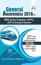 General Awareness 2019 for RRB Junior Engineer  NTPC  ALP   Group D Exams 3rd Edition PDF