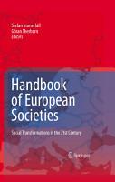 Handbook of European Societies PDF