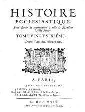 Histoire Ecclesiastique: Depuis l'An 1521. jusqu'en 1528, Volume26