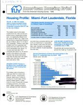 Housing profile: Miami-Fort Lauderdale, Florida