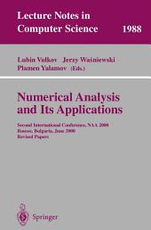 Numerical Analysis and Its Applications: Second International Conference, NAA 2000 Rousse, Bulgaria, June 11-15, 2000. Revised Papers