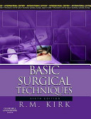 Basic Surgical Techniques PDF