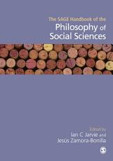 The SAGE Handbook of the Philosophy of Social Sciences PDF