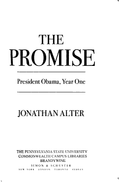 The Promise PDF