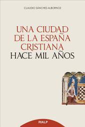 Una ciudad d ela España cristiana hace mil años