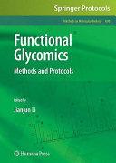 Functional Glycomics