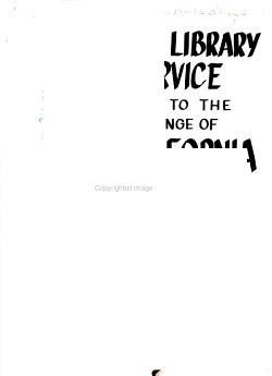 Public Library Service Equal to the Challenge of California PDF