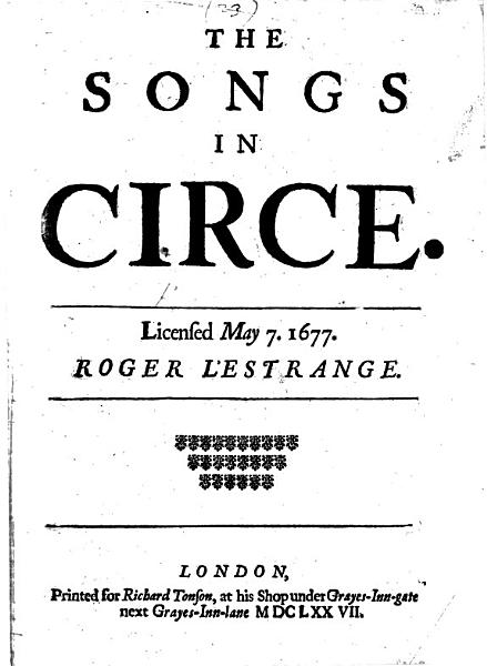 Download The Songs in Circe Book