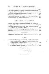 Boletín de la Real Sociedad Geográfica: Volumen 29