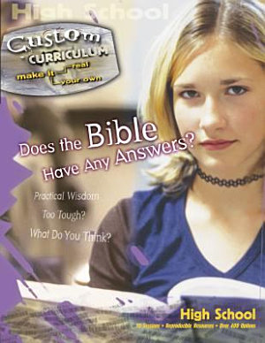 Does the Bible Have Any Answers  PDF