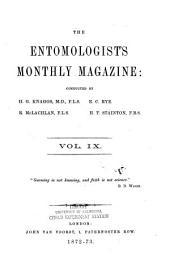 The Entomologist's Monthly Magazine: Volume 9