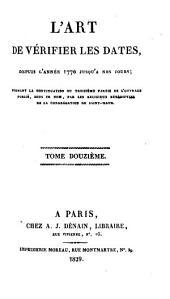 L'Art de vérifier les dates depuis l'année 1770 jusqu'à nos jours: 1829