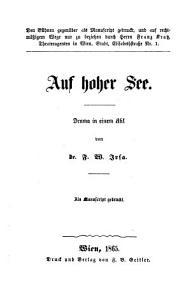 Auf hoher See  Drama in 1 Akt PDF