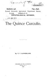 The Quince Curculio