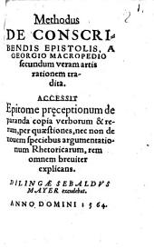 Methodus de conscribendis epistolis