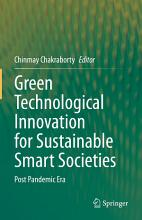 Green Technological Innovation for Sustainable Smart Societies PDF