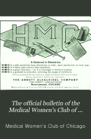 The Official Bulletin of the Medical Women s Club of Chicago PDF
