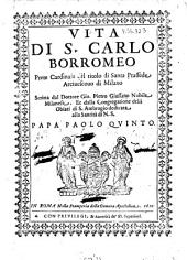 Vita Di S. Carlo Borromeo