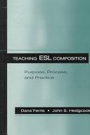 Teaching ESL Composition