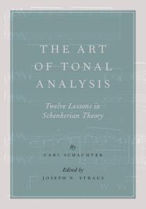 The Art of Tonal Analysis Book