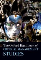 The Oxford Handbook of Critical Management Studies PDF
