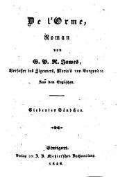 Romane: De l'Orme ; 7, Band 167