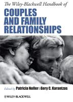 The Wiley Blackwell Handbook of Couples and Family Relationships PDF
