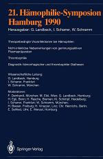 21. Hämophilie-Symposion