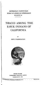 Tobacco Among the Karuk Indians of California PDF