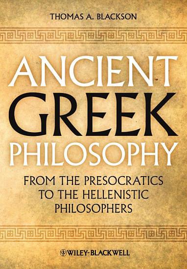 Ancient Greek Philosophy PDF