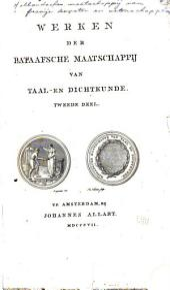 Werken der Bataafsche maatschappij van taal-en dichtkunde: Volume 2