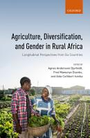 Agriculture  Diversification  and Gender in Rural Africa PDF