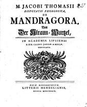 De mandragora