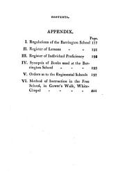 The Barrington school, an illustration of the principles, practices and effect of the new system of instruction, in facilitating the religious and moral instruction of the poor: Volume 1