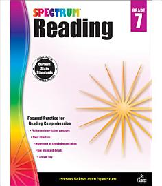 Spectrum Reading Workbook  Grade 7 PDF