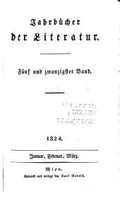 Jahrbücher der Literatur: Bände 25-26