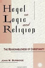 Hegel on Logic and Religion