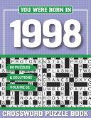 You Were Born In 1998 Crossword Puzzle Book