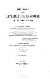 Histoire de la littérature hindouie et hindoustanie: Volume3