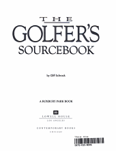 The Golfer s Sourcebook PDF