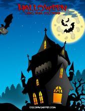 Halloween libro para colorear 1