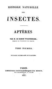 Histoire naturelle des insectes: Aptères